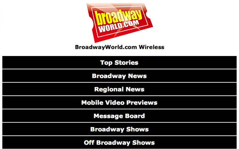 BroadwayWorld - Mobile