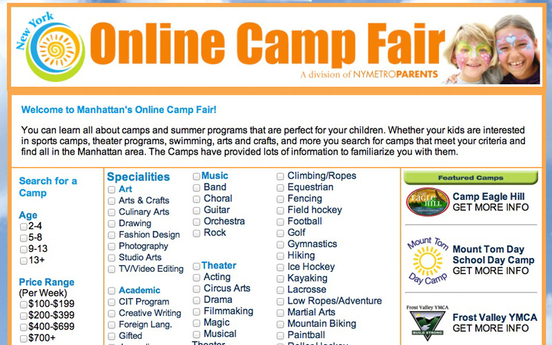 NY Camp Fair